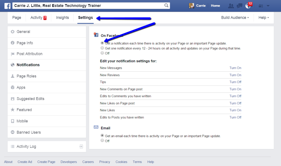 FAcebook_Page_Settings